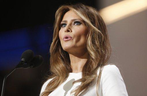 Melania Trump schaltet Webseite mit Lebenslauf ab