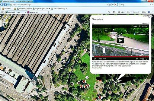 Eines greift ins andere bei dem Projekt stuttgart12.org Foto: StZ