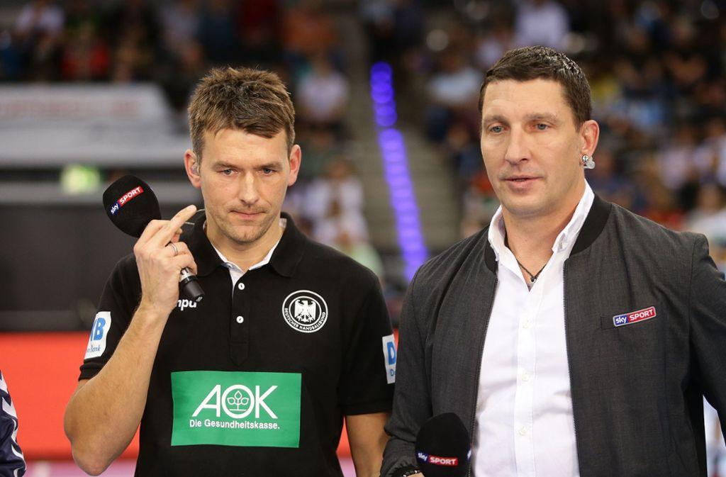 Stefan Kretzschmar (rechts) ist ab sofort  Bundestrainer. Aber nicht der Nachfolger von Christian Prokop (links). Foto: Baumann