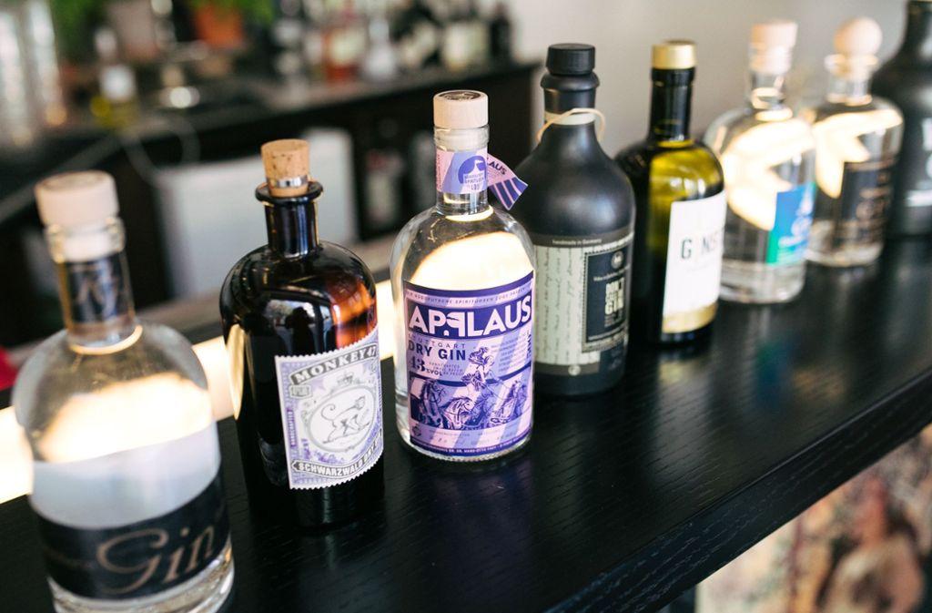 Gin ist seit Jahren im Trend bei Genusstrinkern. Foto: Lichtgut/Verena Ecker