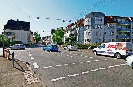 Ludwigsburger Straße nur stadtauswärts befahrbar