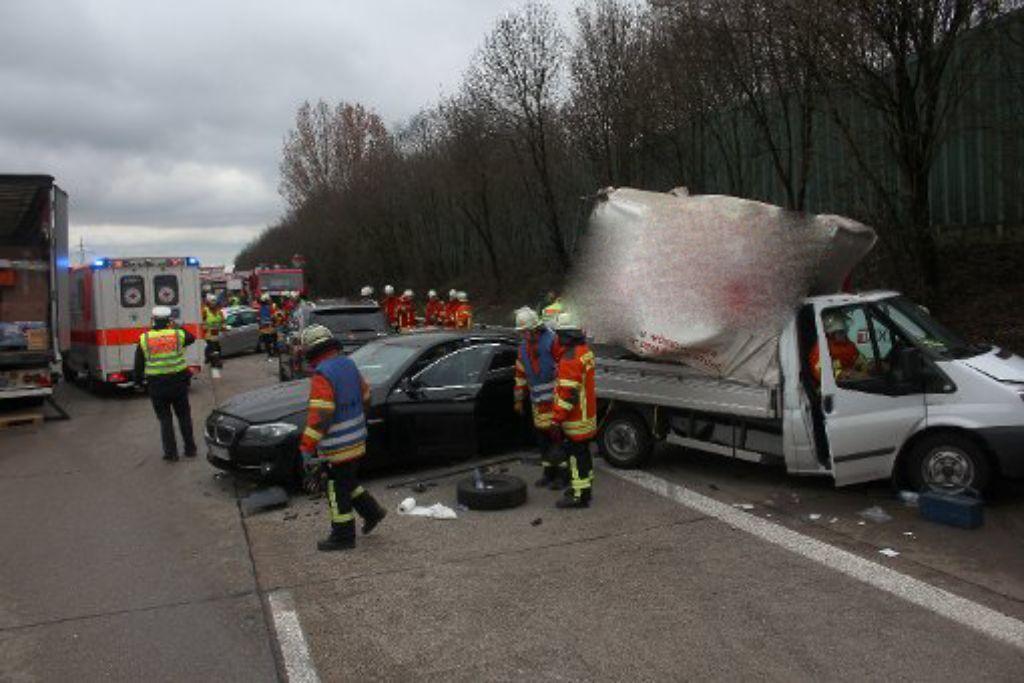 Autounfall Karlsruhe