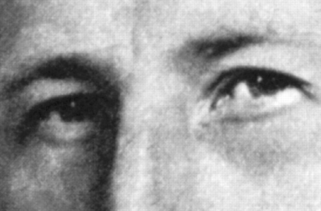 Die Augen eines Massenmörders: Reinhard Heydrich spielt bei Philip Kerr wieder eine tragende Rolle. Foto: dpa