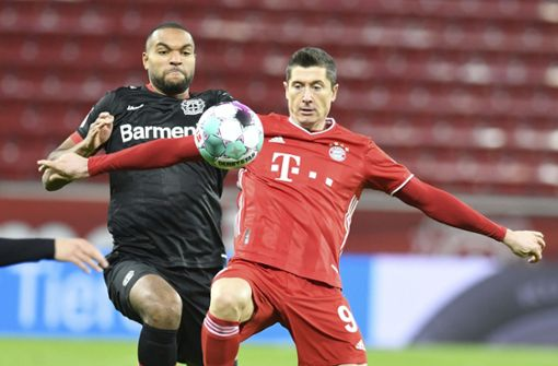 Robert Lewandowski schießt FC Bayern zur Tabellenführung