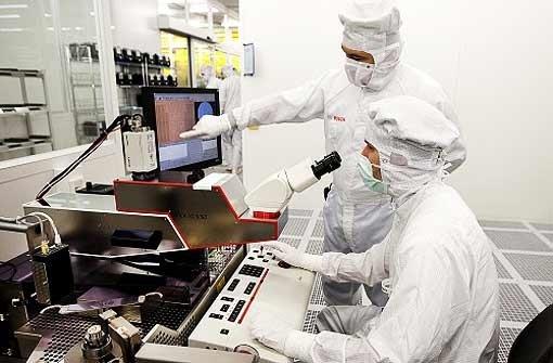 Chipproduktion geht in Betrieb
