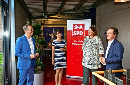Kämpferisch in den Landtagswahlkampf