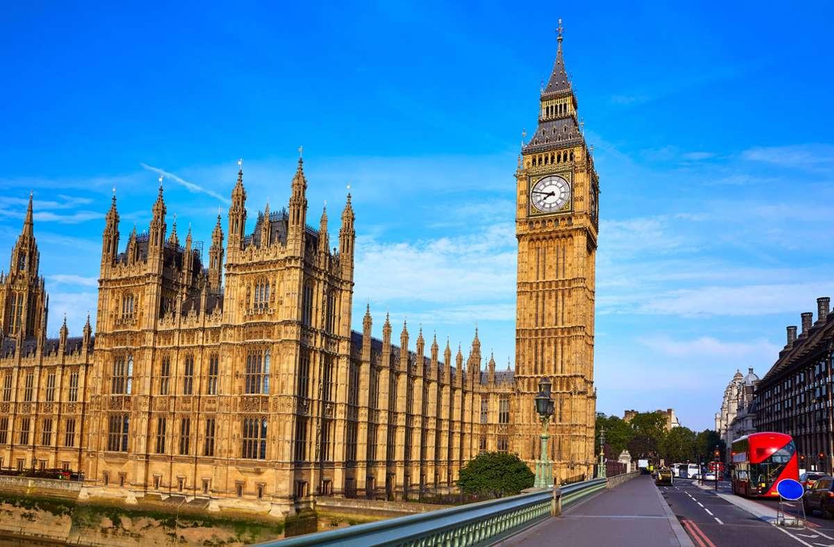 Big Ben in London – Großbritannien ist aktuell kein Corona-Risikogebiet mehr. (Archivbild) Foto: imago images/lunamarina/lunamarina via www.imago-images.