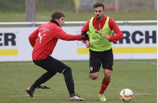 VfB-Stuttgart-Profis starten in heiße Phase