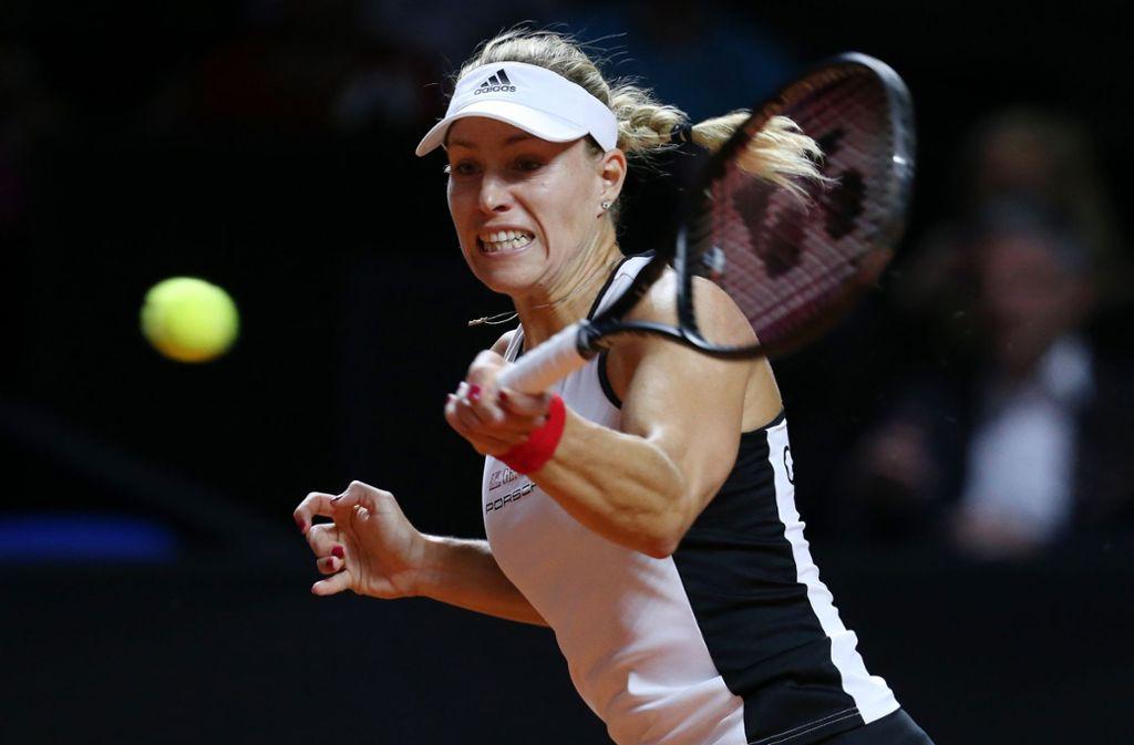 Die zweimalige Grand-Slam-Siegerin und ehemalige Nummer eins der Weltrangliste, Angelique Kerber. Foto: Pressefoto Baumann