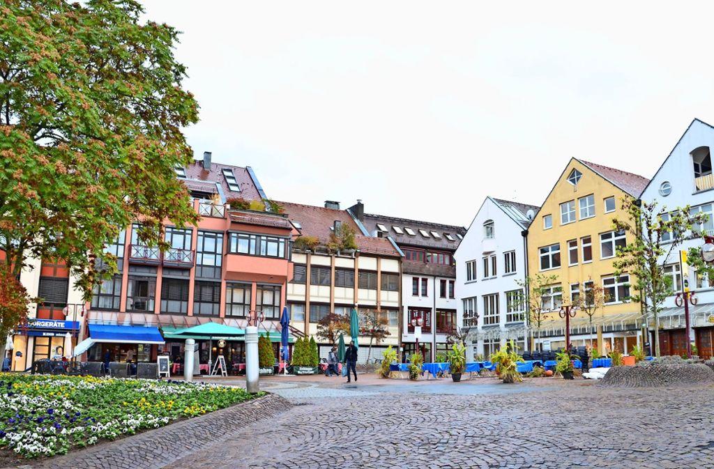 Die Probleme am Vaihinger Markt sind bekannt. Die Menschen im Ort wollen nun endlich Taten sehen. Foto: Archiv Sandra Hintermayr