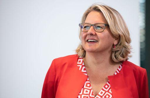 Umweltministerin Schulze rüffelt CSU-Kollegen