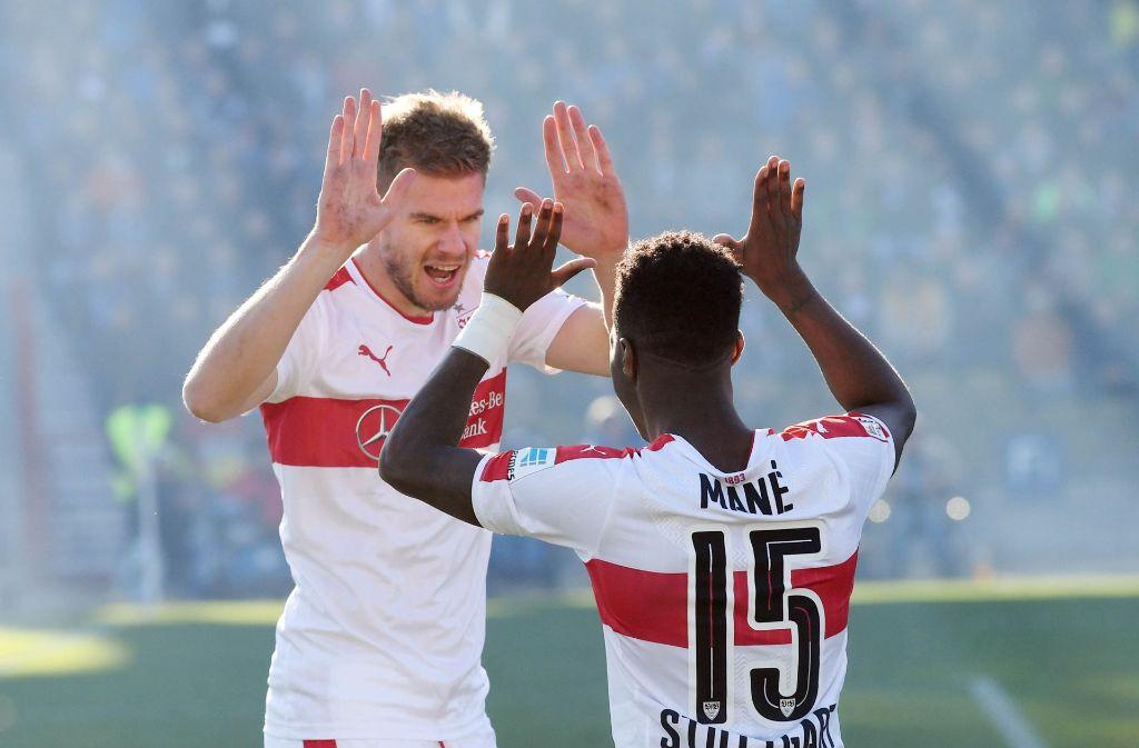 In der zweiten Liga siegen die Stuttgarter gerade wieder. Foto: dpa