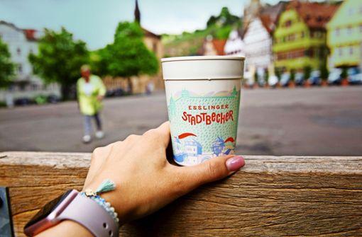 Esslingen nimmt Pfand für  Coffee to go