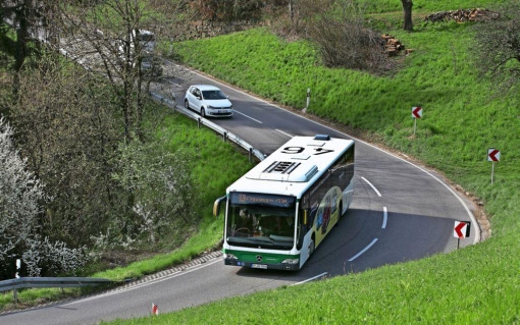 Gerade im ländlichen Raum fahren die Busse im Kreis Göppingen bisher  wenig berechenbar. Foto: Horst Rudel