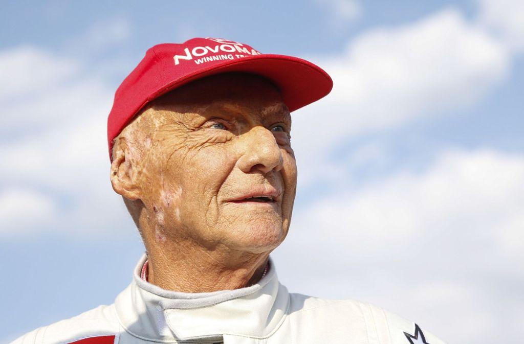 Niki Lauda hat sich einer Lungentransplantation unterziehen müssen. Foto: APA