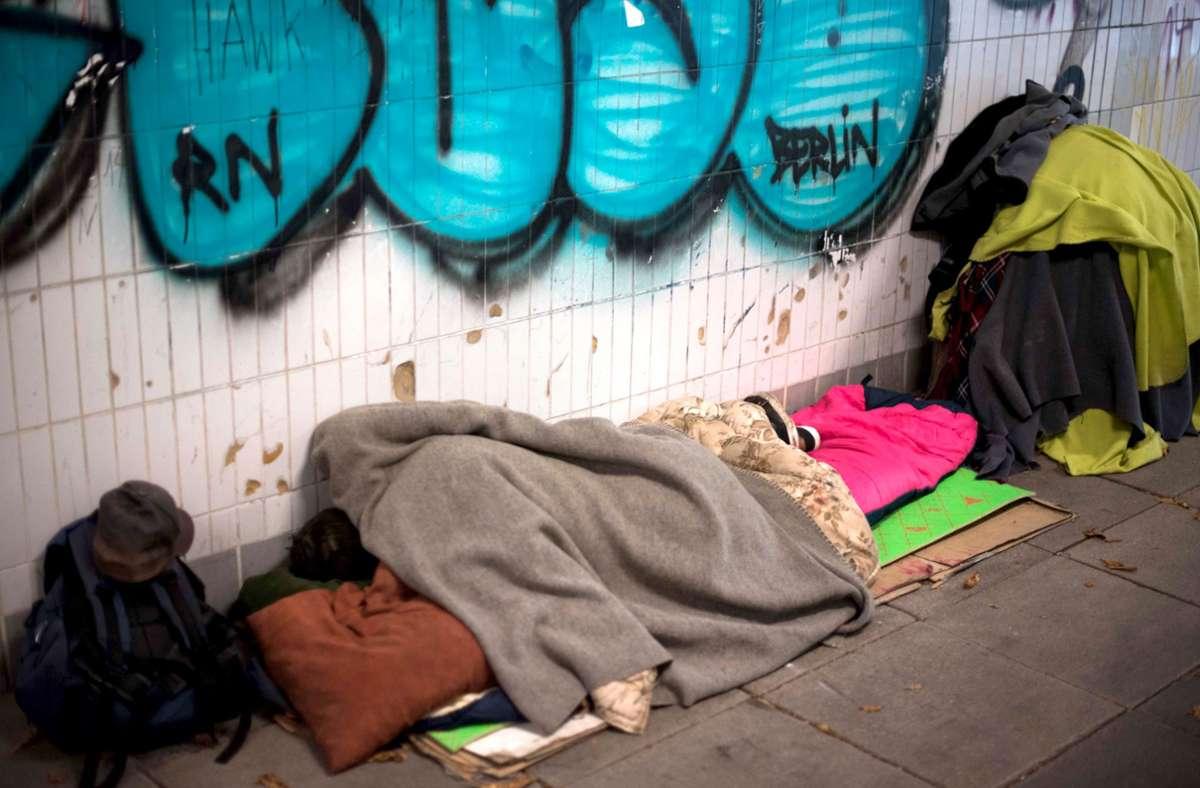 Mancher entlassene Strafgefangene muss auf der Straße leben. Foto: Lichtgut/Max Kovalenko