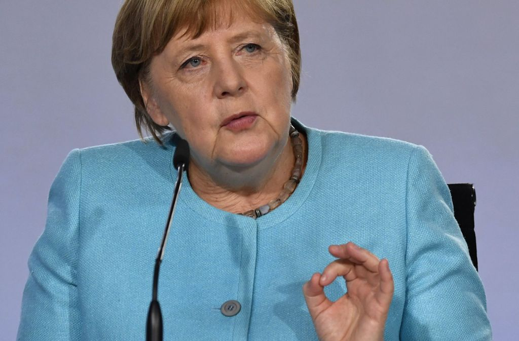 Kanzlerin Angela Merkel und ihre Regierung haben ein großes Konjunkturpaket beschlossen. Foto: dpa/John Macdougall
