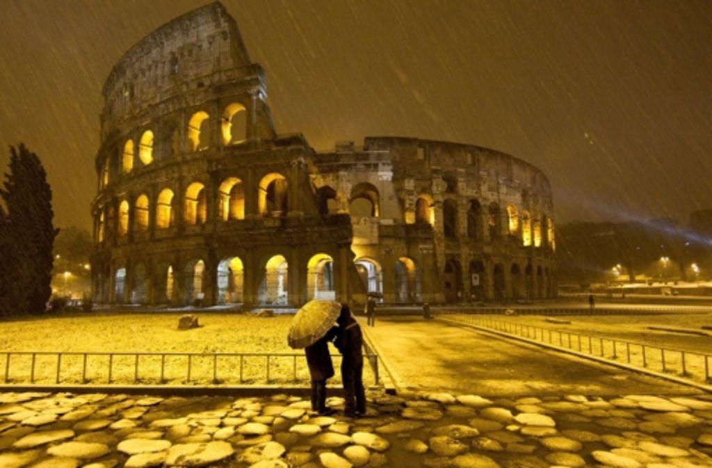 Die Römer lieben den Winter. Foto: dpa