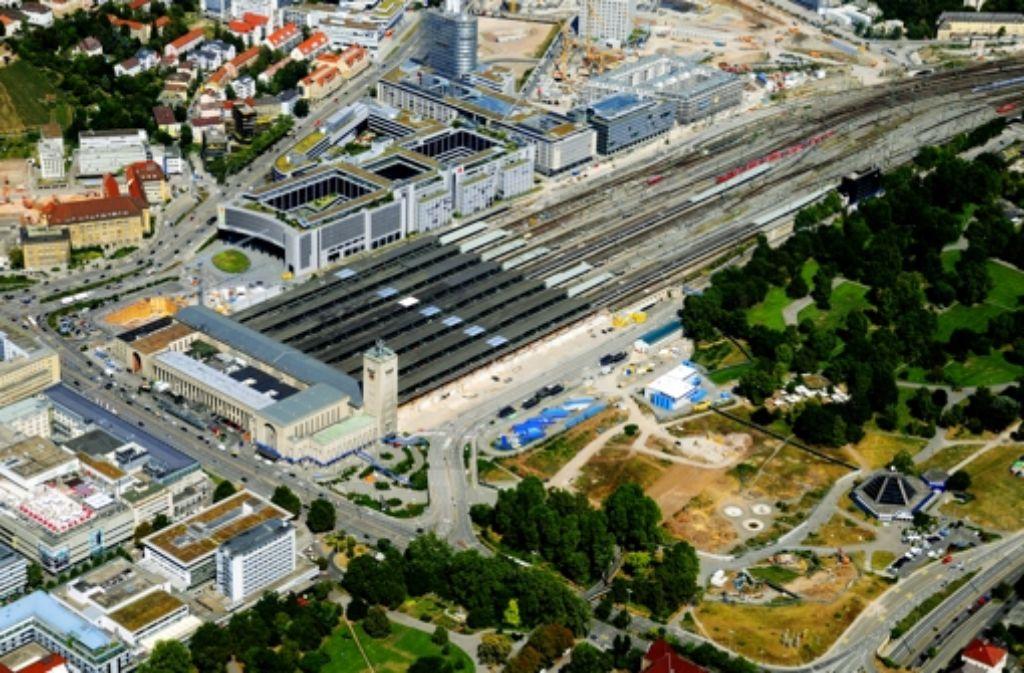 Die Bürger sollen sich auch künftig in Livesendungen über einzelne Baumaßnahmen bei Stuttgart21 informieren können. Foto: Storck