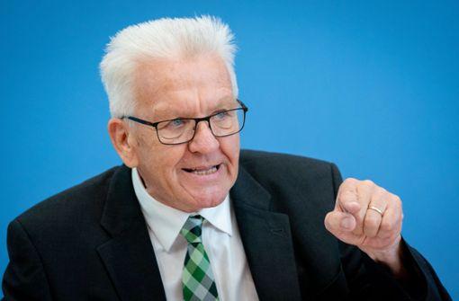 Kretschmann sieht Koalition beim Konfliktthema auf guten Weg