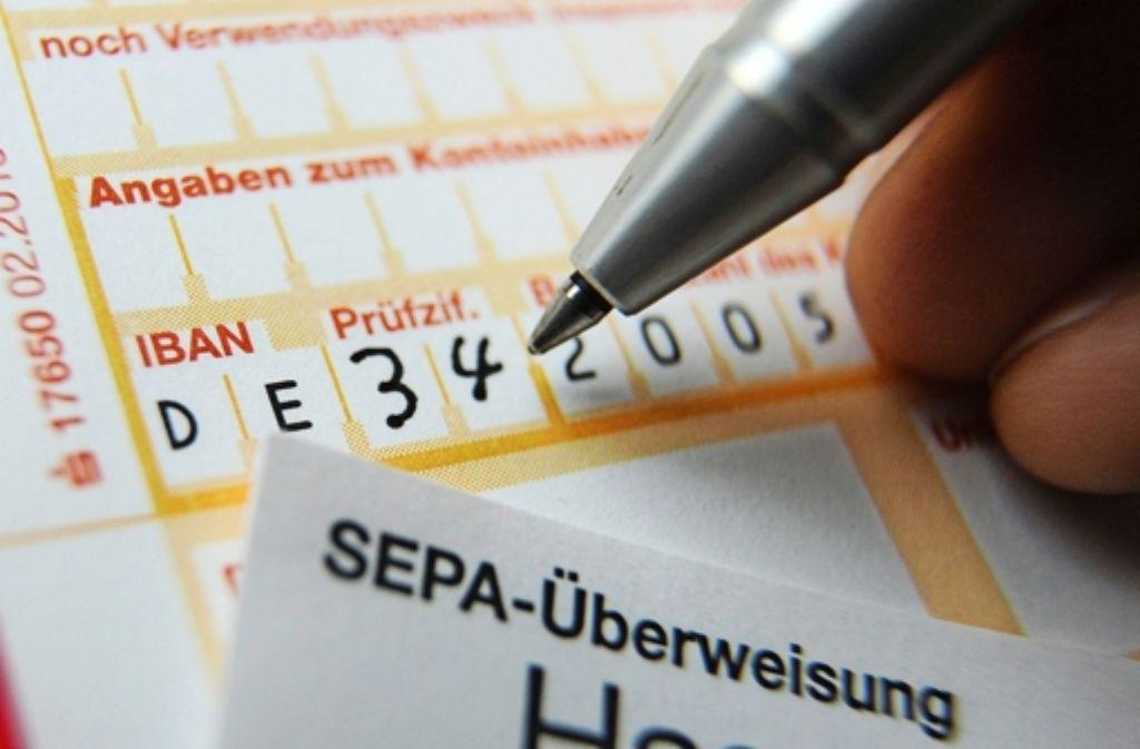Das neue Zahlungssystem Sepa soll auch Betrug verhindern. Foto: dpa