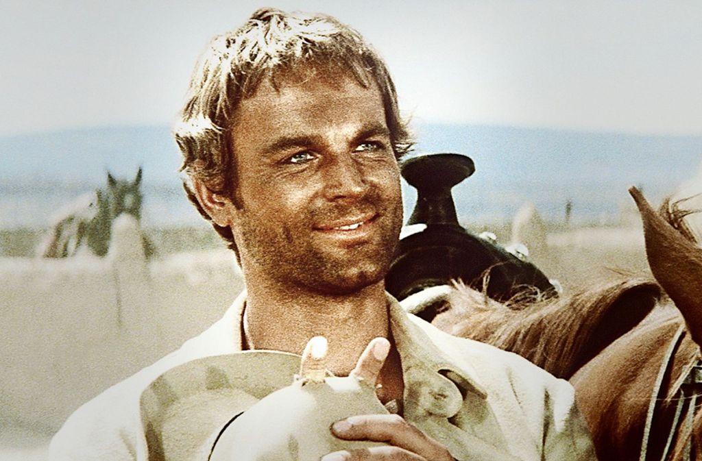 """Terence Hill im Jahr 1973 im Western  """"Mein Name ist Nobody"""" Foto: kabel eins/(c) TOBIS FILM/obs"""