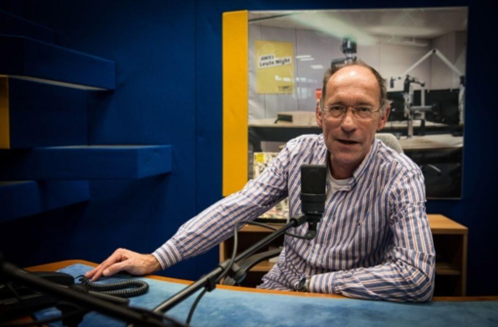 Stefan Siller hat aus seinem spannenden Radioleben  einiges zu erzählen. Foto: Lichtgut/Achim Zweygarth