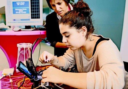 Mädchen für technische Berufe begeistern