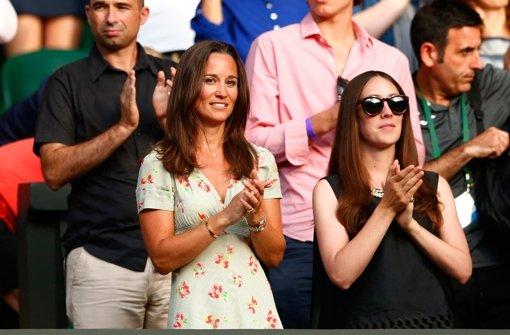 Pippa Middleton sieht Federer-Sieg
