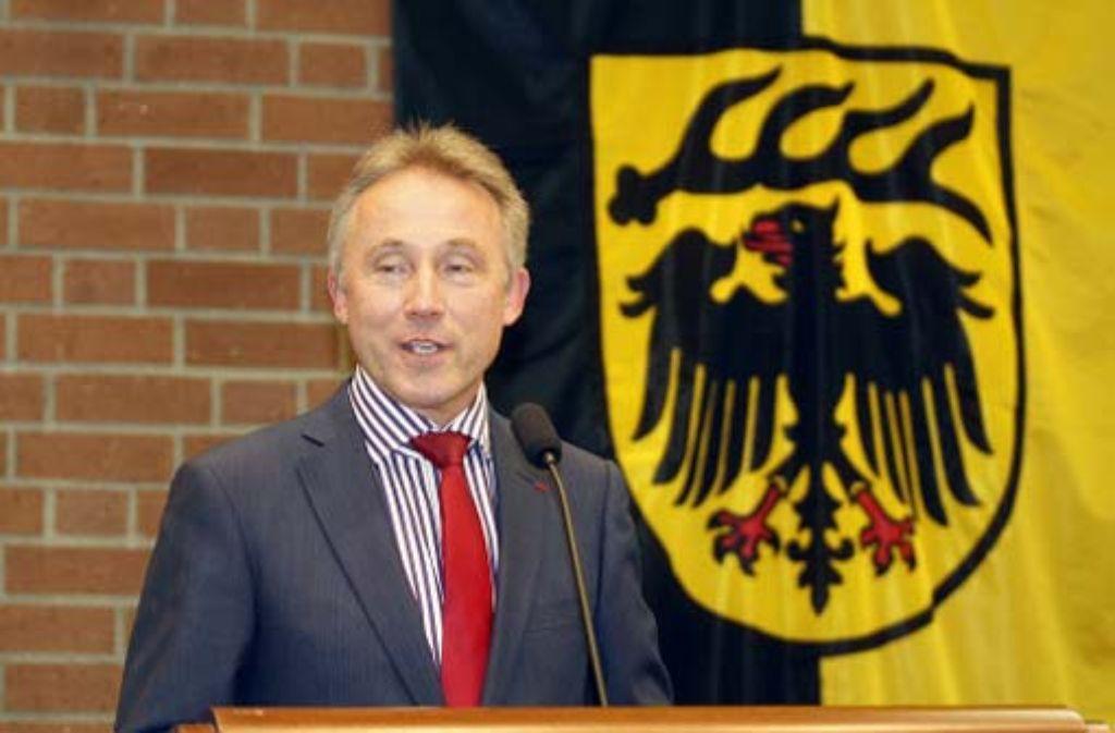 Rainer Haas bleibt Landrat. Foto: factum/Granville