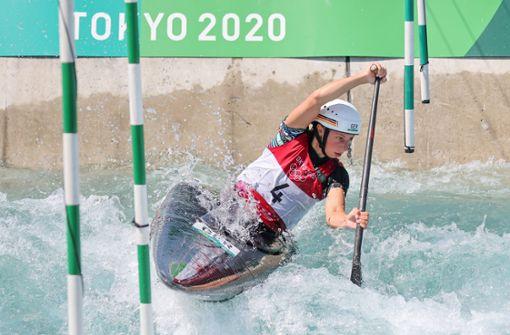 Andrea Herzog sichert sich Bronze im Kanu-Slalom