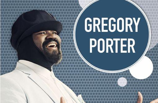 Jazz-Star Gregory Porter tritt auf
