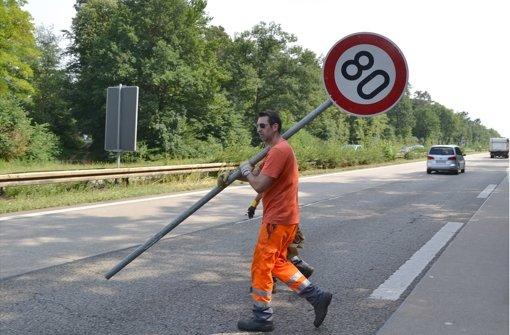 Wieder Tempo 80   auf Autobahnen