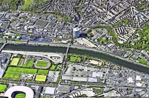 2500 neue Wohnungen am Neckar möglich