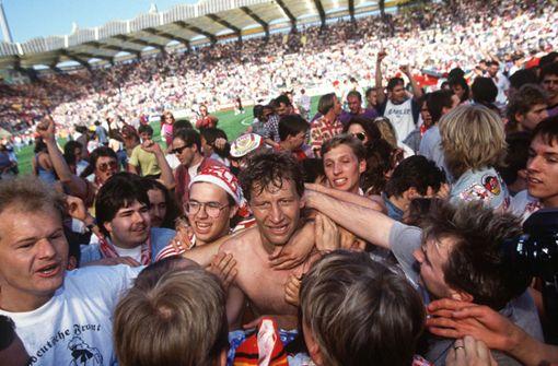 Als Guido Buchwald den VfB zur Meisterschaft köpfte