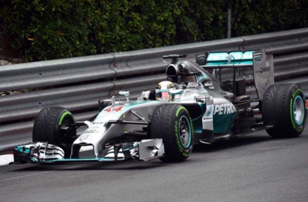 Experten erwarten, dass Mercedes beim Großen Preis von Monaco weit vorn fährt. Foto: AFP