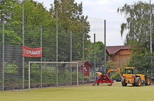Ein Bollwerk im TSV-Strafraum