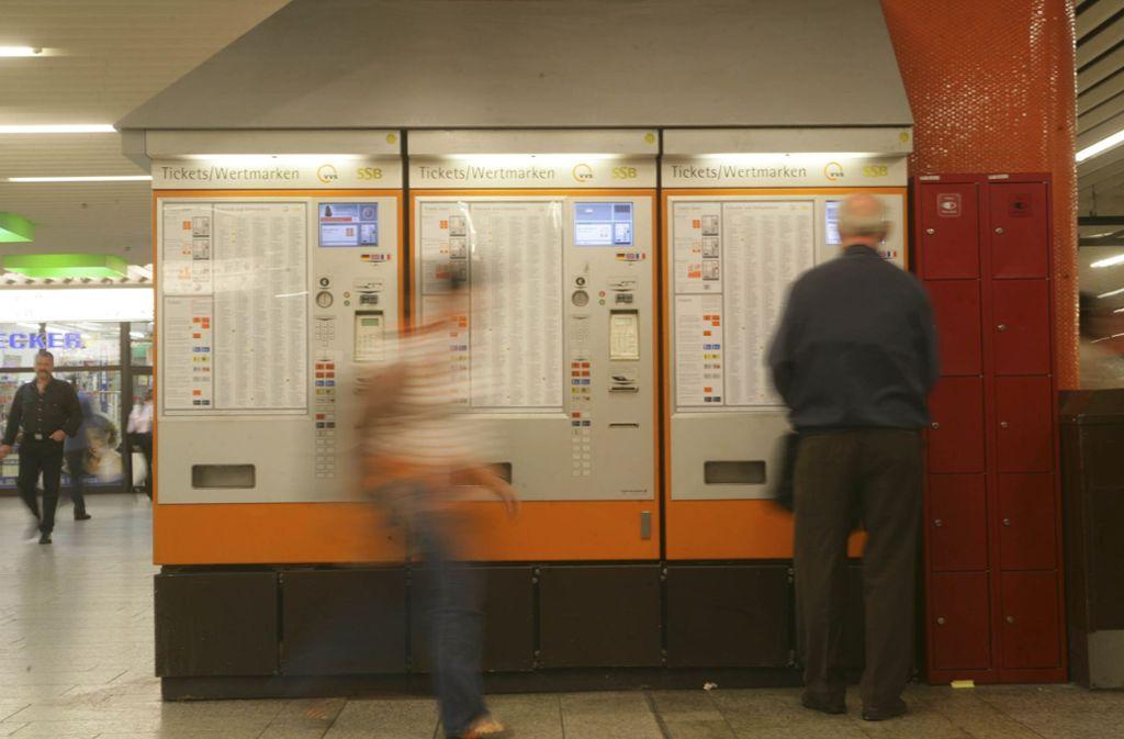 Die heutigen SSB-Automaten müssen noch ein bisschen durchhalten. Foto: Achim Zweygarth