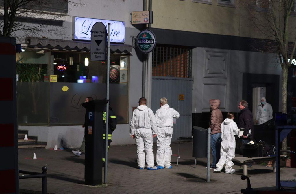 Ein schweres Gewaltverbrechen hat Hanau erschüttert. Foto: AFP/YANN SCHREIBER