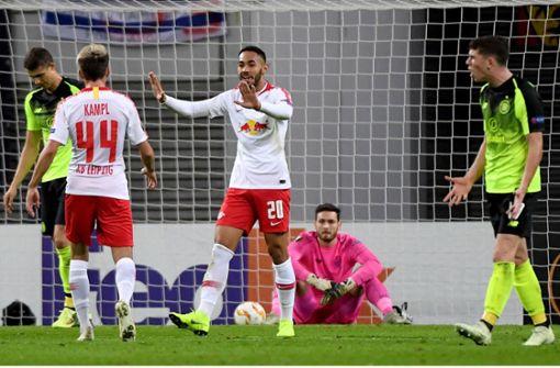 Sieg für Leipzig, Leverkusen verliert nach Führung