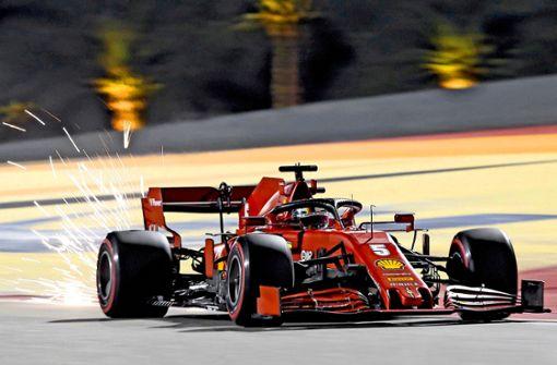 Vettels letztes Rennen für Ferrari