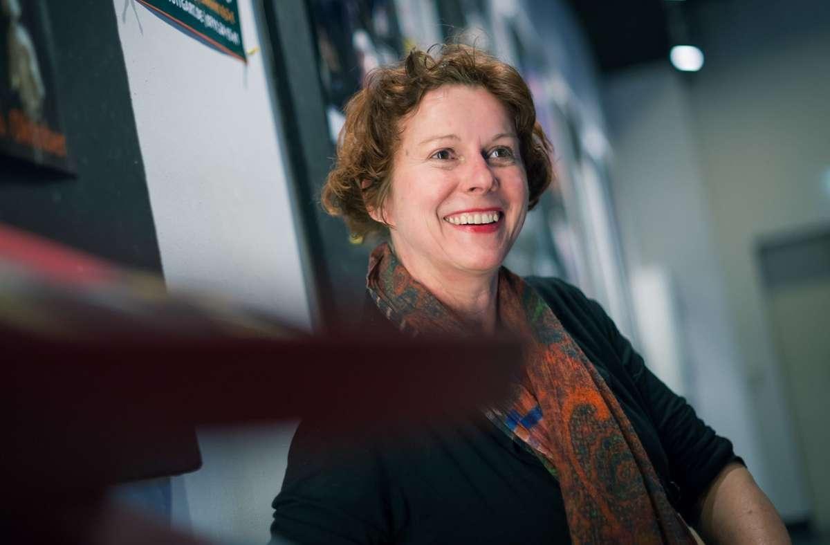 """""""Ein leeres Theater ist ja etwas Schlimmes"""", so  Katja Spiess. Sie  freut sich, dass das Theater wieder öffnet und dem Publikum 13 Produktionen präsentiert. Foto: Lichtgut/Max Kovalenko"""