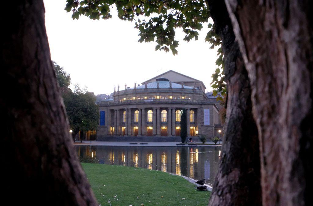 Die Stuttgarter Oper soll saniert werden. Foto: dpa/Bernd Weissbrod