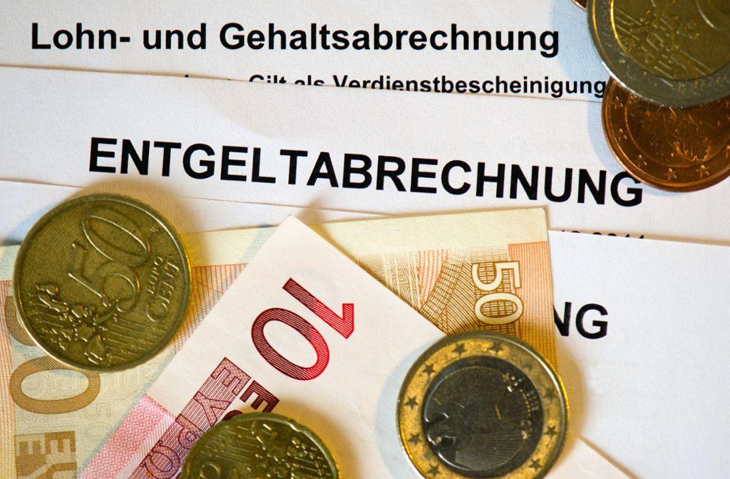 Baden-Württemberg hat im Ländervergleich das zweithöchste Lohnniveau der Bundesrepublik. Bei den Städten liegt Stuttgart an der Spitze. (Symbolfoto) Foto: dpa