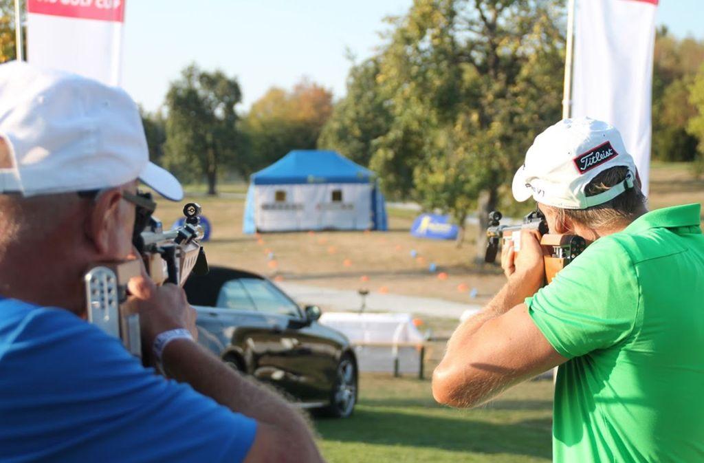 Geschossen wir mit Lasergewehren. Foto: privat