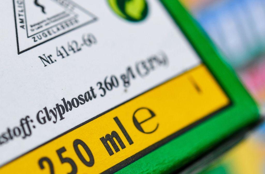 Wie lange wird Glyphosat noch in Deutschland eingesetzt? Foto: Patrick Pleul/ZB/dpa