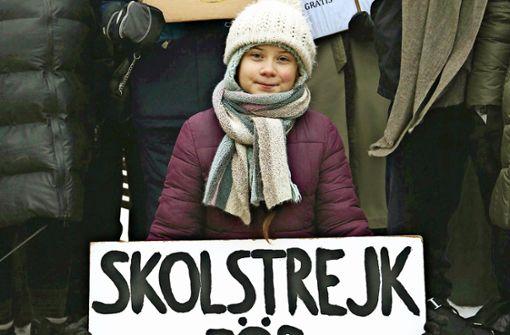 Die unerschrockene Greta Thunberg