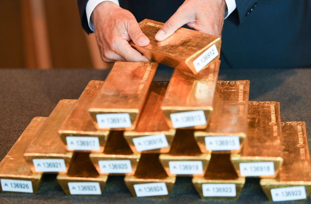 Es geht um viel Gold und noch mehr Geld in dem Prozess vor dem Landgericht Stuttgart. Foto: dpa