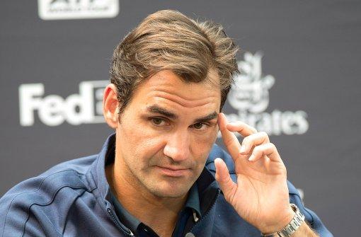 Rasenkönig Federer gibt sich die Ehre