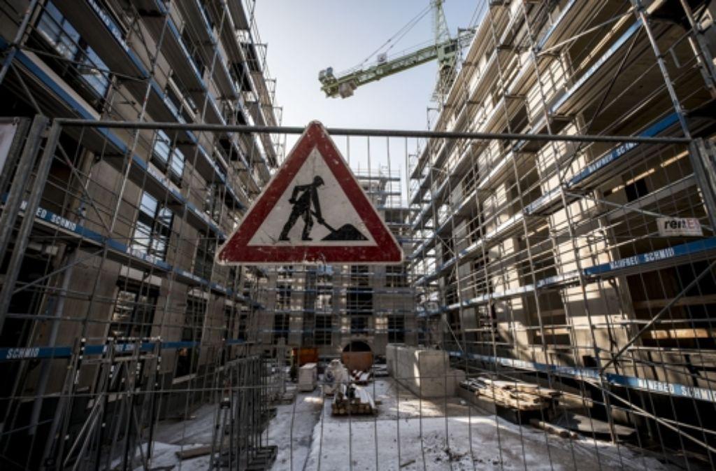 In Stuttgart wird gebaut – wie hier an der Seestraße. Foto: Lichtgut/Leif Piechowski